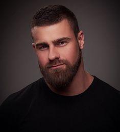 Male beauty beards & scruff hairy men, beard no mustache, beard styles. Great Beards, Awesome Beards, Beard Growth, Beard Care, Moustaches, Beard Tattoo, Beard No Mustache, Hair And Beard Styles, Good Looking Men
