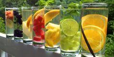 Águas aromatizadas são a nova mania do verão