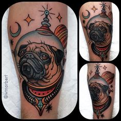 A pug in space. Thanks Matt!