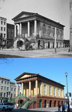 ***Charleston, South Carolina .. Then and Now