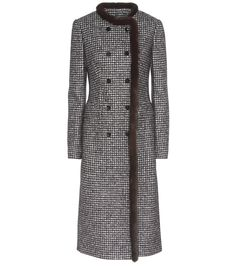 mytheresa.com - Wool-Blend And Mink Fur Coat * Dolce & Gabbana » mytheresa - Luxury Fashion for Women / Designer clothing, shoes, bags