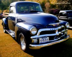 Classic Truck - 1954 Chevrolet 3100 Pickup - 8x10 Fine Art Photograph - Gifts for Dad Under 50 Dollars. $30.00, via Etsy.