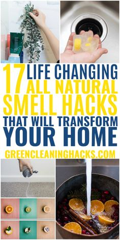 17 Brilliant All Natural Home Scent Hacks - Green Cleaning Hacks Deep Cleaning Tips, House Cleaning Tips, Green Cleaning, Natural Cleaning Products, Spring Cleaning, Cleaning Hacks, Cleaning Recipes, House Smell Good, House Smells