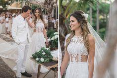 Resultado de imagem para vestido de noiva saia e cropped