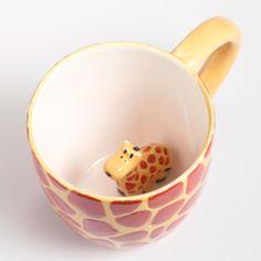 Ceramic Giraffe Surprise Mug | World Market