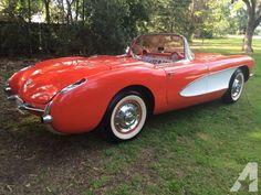 1956 Chevrolet Corvette Convertible for Sale in Stockton, California Classified   AmericanListed.com