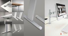 Kea Computerarbeitsplatz kea Schreibtisch mit Kea Schrankwand Melamin weiß Hochwertiges Metall-Schreibtischgestell für stabilen Stand