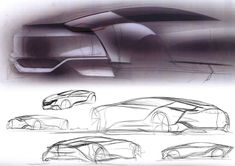 Buick Riviera Concept Design Sketches