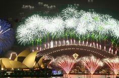 Silvester Feuerwerk Sydney New Year's Eve Firework in Sydney