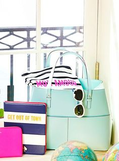 Gorgeous #katespade bag in #mint http://rstyle.me/n/jz2nhnyg6