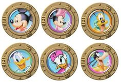 Portholes with Disney