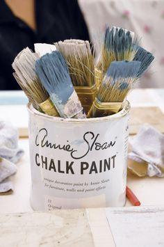 Home DIY • Vorzimmer Umgestaltung mit Paris-Bildern & selbstbemalter Kommode (Annie Sloan Chalk Paint)