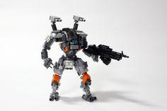 Lego Titanfall, Lego Mechs, Robot Concept Art, Lego Models, Lego Creations, Legos, Gundam, Suit, Inspiration