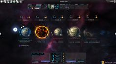 I also think Endless Space's system UI is gorgeous (the motion design is great too, you should see it in action) and displays a lot of information well.