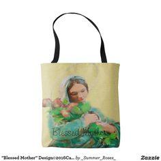 """""""Blessed Mother"""" Design©2016CaroleTomlinson Tote Bag"""