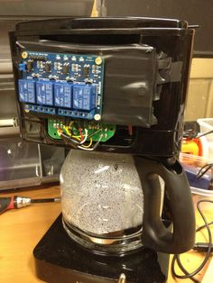 how to add your coffee maker to the Internet of Things