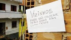 Imagem e Frases Facebook: Pedido de vizinho triste