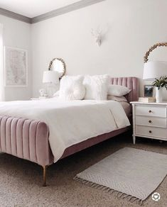 Different Types Bedroom Furniture And How To Make Your Bedroom Beautiful – Home Dcorz Dream Master Bedroom, Gold Bedroom, Modern Bedroom, 50s Bedroom, Velvet Bedroom, Grey Bedroom Furniture, Home Decor Bedroom, Budget Bedroom, Cute Room Decor