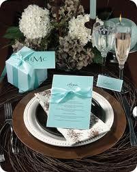 Gorgeous wedding color scheme white, turquoise & brown