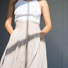Wrap Skirt - Oatmeal