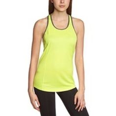 Nike Running Top Nike Dri-Fit Racerback Tank in Volt Yellow and Dove Gray. Logo In corner of left chest. Fit is form fitting, and would run on the smaller side. Light breathable fabric in 100% Polyester. Machine Wash. Never Worn, but without tags. Nike Tops Tank Tops