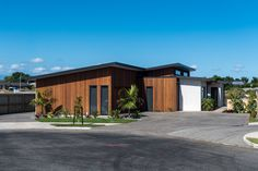 Bell Block Taranaki Showhome House Exteriors, Garage Doors, New Homes, Building, Outdoor Decor, Home Decor, Architecture, Decoration Home, Room Decor