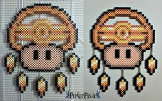 Millennium Ring Mushroom by PerlerPixie.deviantart.com on @DeviantArt