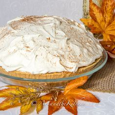 No Bake Triple Layer Pumpkin Pie | Art and the Kitchen