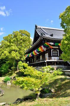 Chishaku-in temple, Kyoto, Japan 智積院 京都