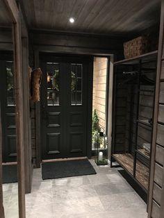 Summer House Interiors, Log Home Interiors, Cottage Interiors, Rustic Home Design, Cabin Design, House Design, Cabin Homes, Log Homes, Scandinavian Cabin