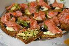 Bufet suedez - idei de preparate reci festive   Savori Urbane Aioli, Bruschetta, Avocado Toast, Goodies, Appetizers, Breakfast, Ethnic Recipes, Spreads, Diy