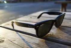 the only sunglasses i wear  love me some ray ban wayfarers.
