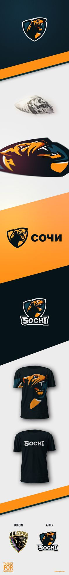 KHL HC Sochi concept on Behance