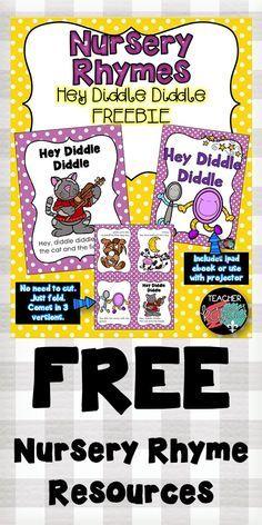 FREE Nursery Rhyme resources. Printable readers and ebooks. TeacherKarma.com