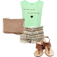 ::: Cute summer outfit :::