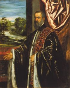Portrait of Doge Marino Grimani, Tintoretto, 1578 © Los Angeles County Museum of Art, Paul Rodman Mabury Collection (39.12.23)