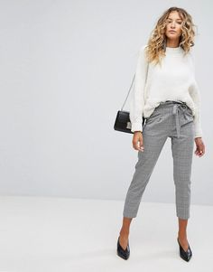 Miss Selfridge Checked Tailored PANTS - Multi