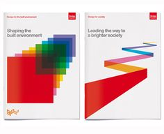 Brochure covers for Design Council by Purpose