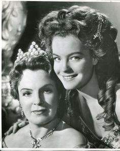Photo cinématographique ORIGINALE Romy & Magda SCHNEIDER du film SISSI 23x27 cm
