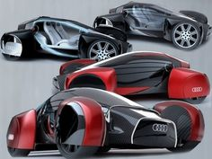SPORT CARS DESIGN: AUDI FUTURISTIC SPORT CAR CONCEPT