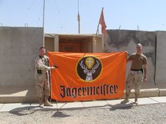 Jägermeister in Iraq