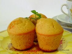 Muffin de Laranja fácil e rapidíssimo