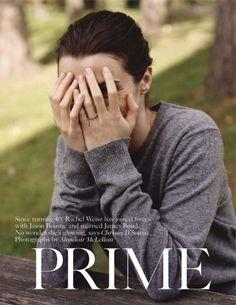 """Prime Time"" (+)   Vogue UK, July 2012  photographer: Alasdair McLellan   Rachel Weisz    // sjloves:afashionhouse"