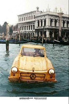 Woodwork Art /its  a boat ,its a car , its  wooden !