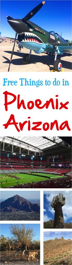 Phoenix Arizona Things To Do - fun FREE things that don't cost a dime! | at NeverEndingJourneys.com