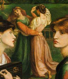 Dante Gabriel Rossetti 1828-1882   British Pre-Raphaelite painter