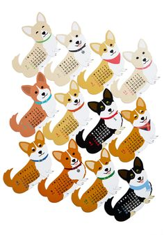 Year of the Critter 2015 Calendar in Corgi