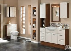 Utopia Bathroom Furniture at discount prices Classic Bathroom Furniture, Simple Bathroom, Modern Bathroom, Bathroom Cabinets, Beautiful Bathrooms, Interior And Exterior, House Design, Furniture Sets, Home Decor
