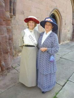 Suffragette edwardian ladies hats made by myself for shrewsbury heritage 2014