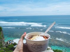 10 Amazing Things To Do In Bali :: Grab a Nalu bowl at Single Fin (Bali's hottest surf spot)